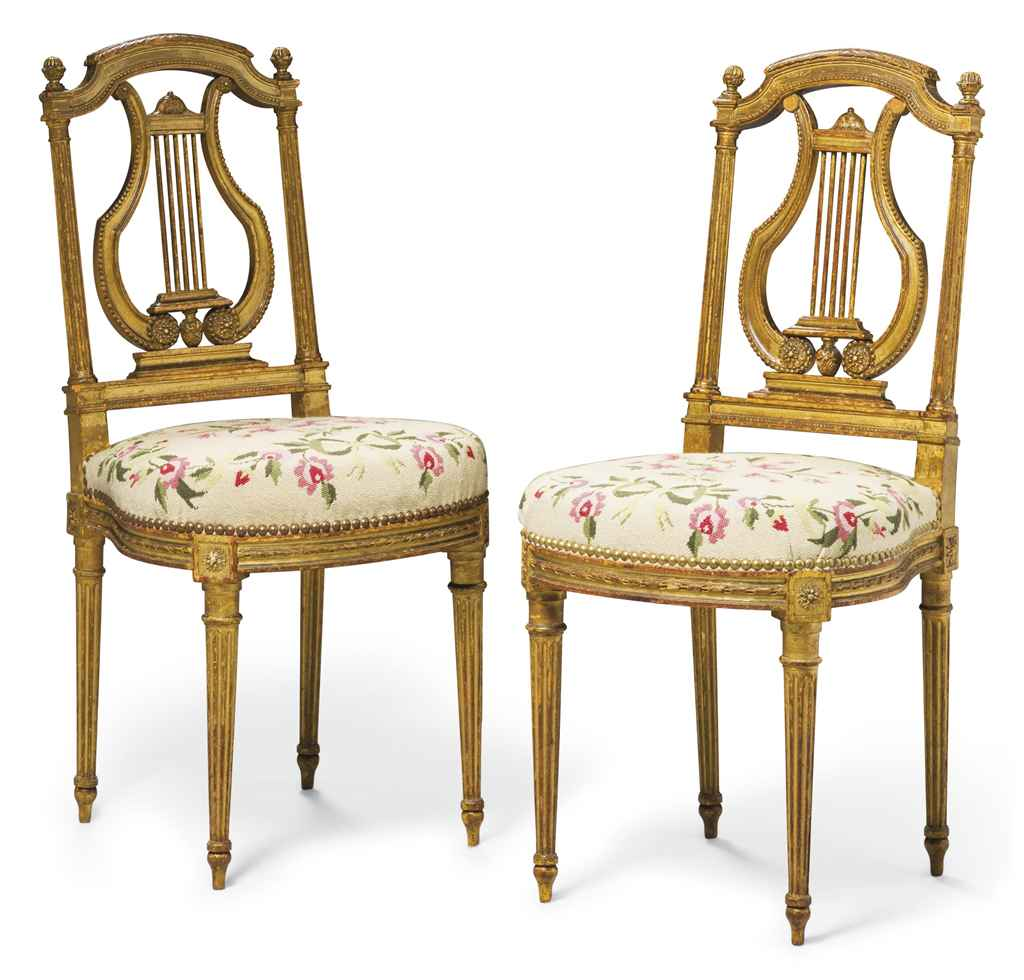 paire de chaises d 39 epoque napoleon iii seconde moitie du xixeme siecle christie 39 s. Black Bedroom Furniture Sets. Home Design Ideas