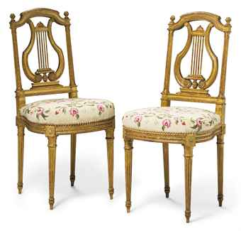 Paire de chaises d 39 epoque napoleon iii for Chaise napoleon 3