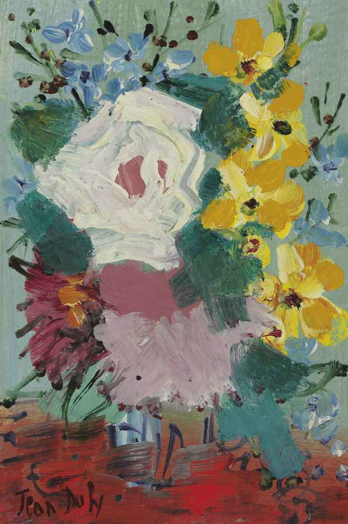 Jean dufy 1888 1964 bouquet de fleurs christie 39 s - Photos bouquets de fleurs ...