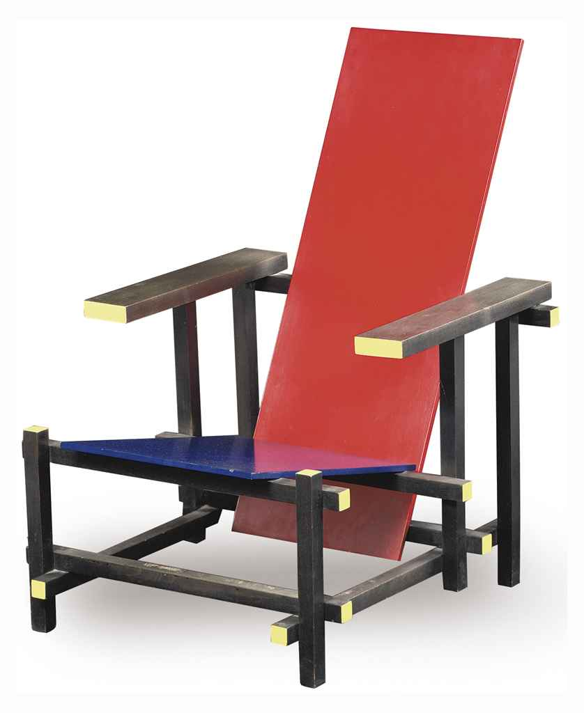 Gerrit rietveld chair for sale - Lot 666