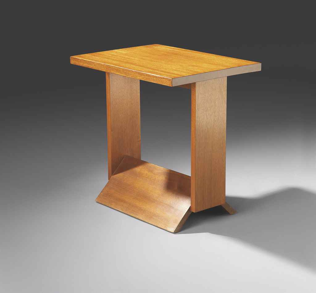 Pierre chareau 1883 1950 table basse 39 mb45 39 vers 1927 for Table basse hauteur 45 cm