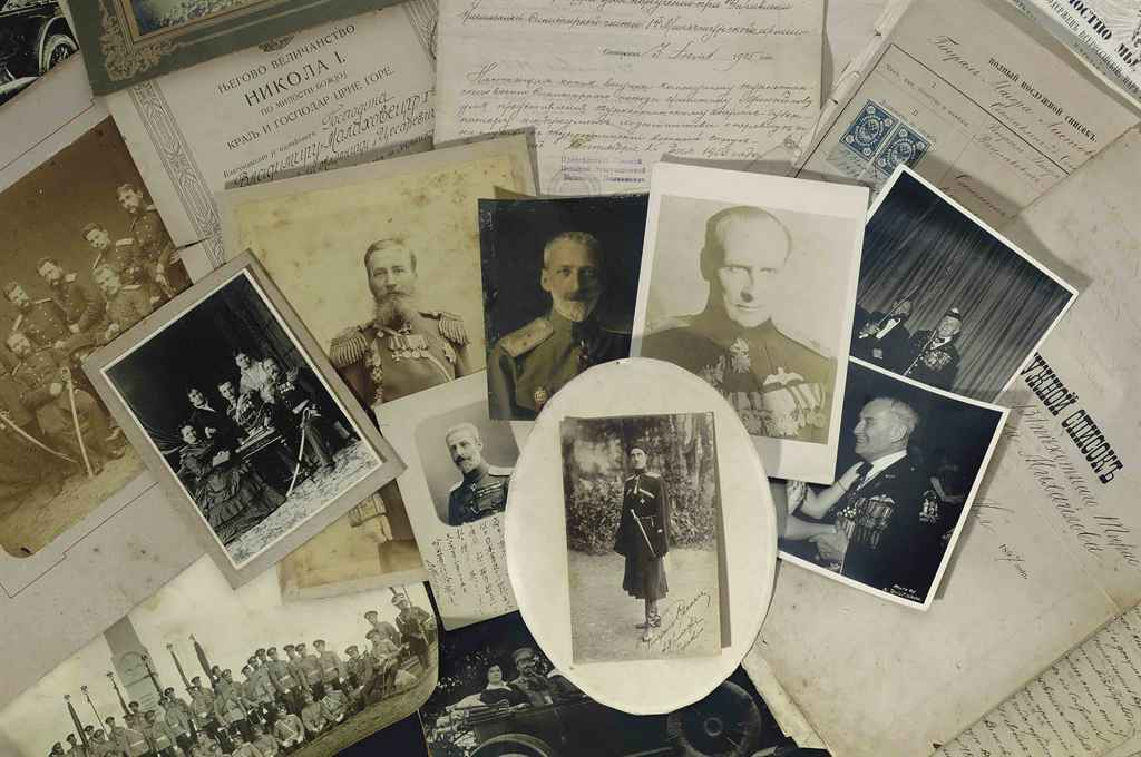 An archive relating to General Alexander Michaelov and Georg...