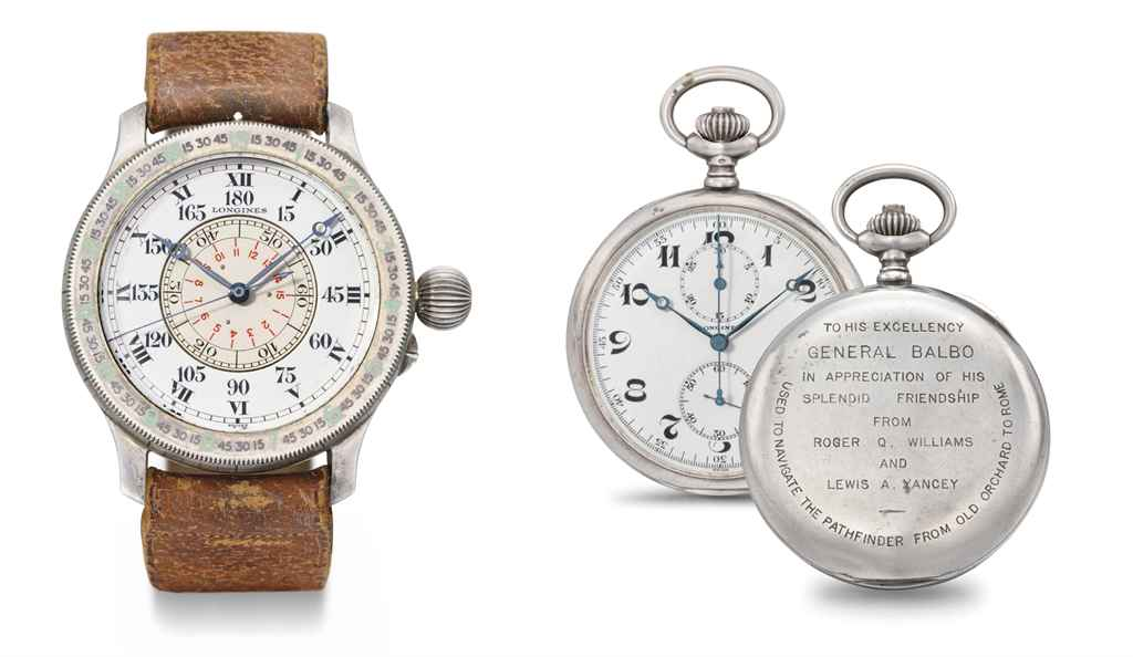 Longines. A lot of two rare an