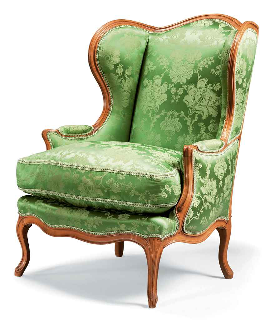 bergere a oreilles d 39 epoque louis xv estampille de jean jacques pothier milieu du xviiieme. Black Bedroom Furniture Sets. Home Design Ideas