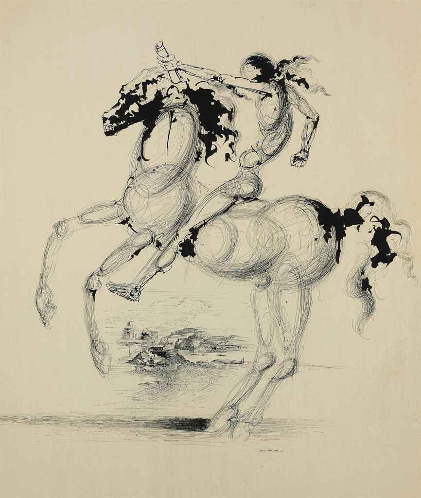 salvador dali dark horse essays