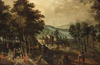 A village Kermesse on St.tobias village