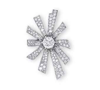 A DIAMOND 'SOLEIL' RING, BY CHANEL