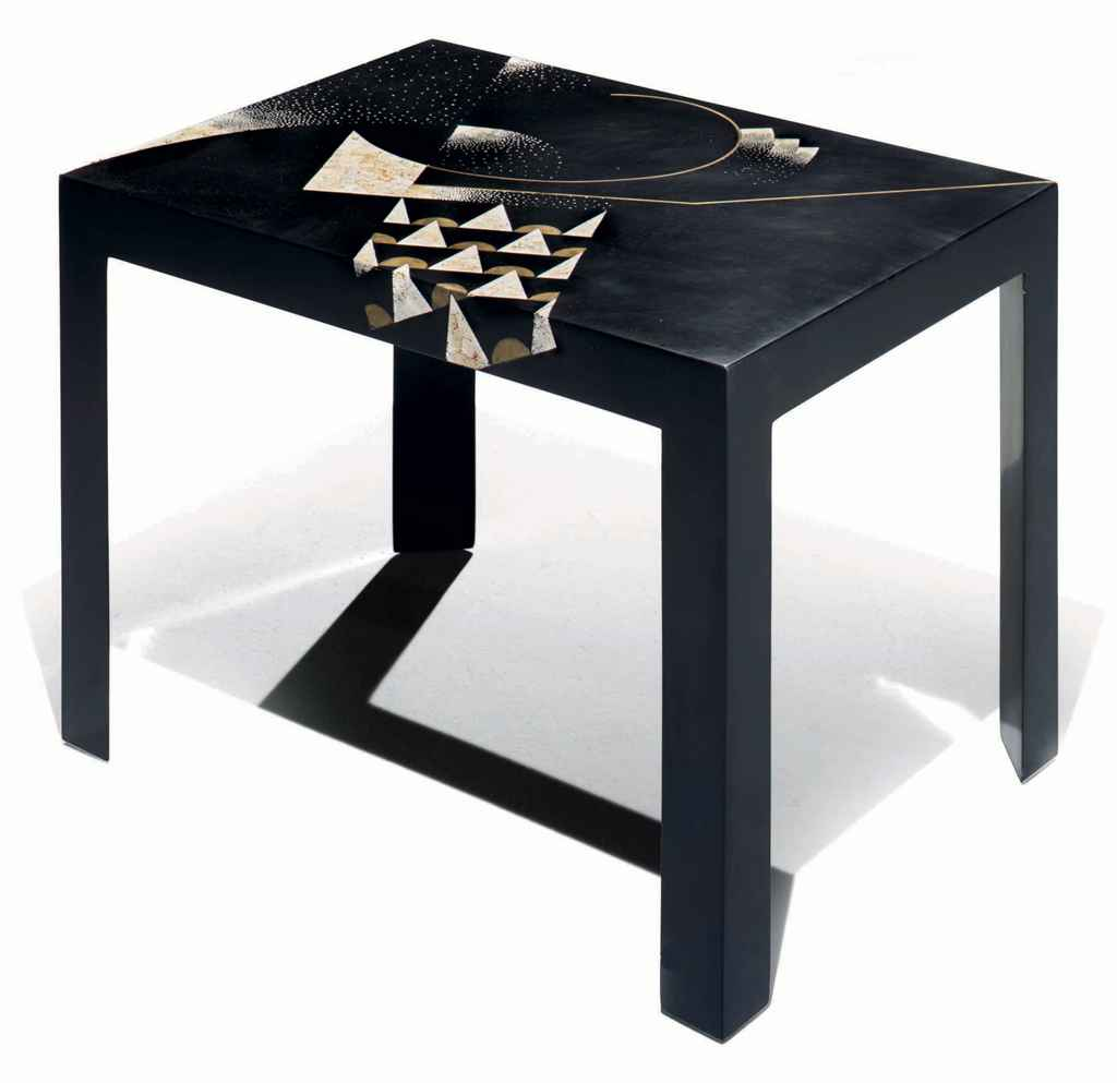 gaston suisse 1896 1989 table basse piece unique 1927 christie 39 s. Black Bedroom Furniture Sets. Home Design Ideas
