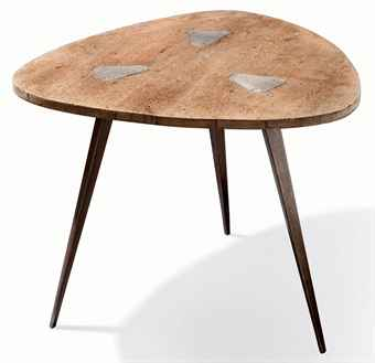 Jean prouve 1901 1984 table tripode prototype vers - Table basse jean prouve ...