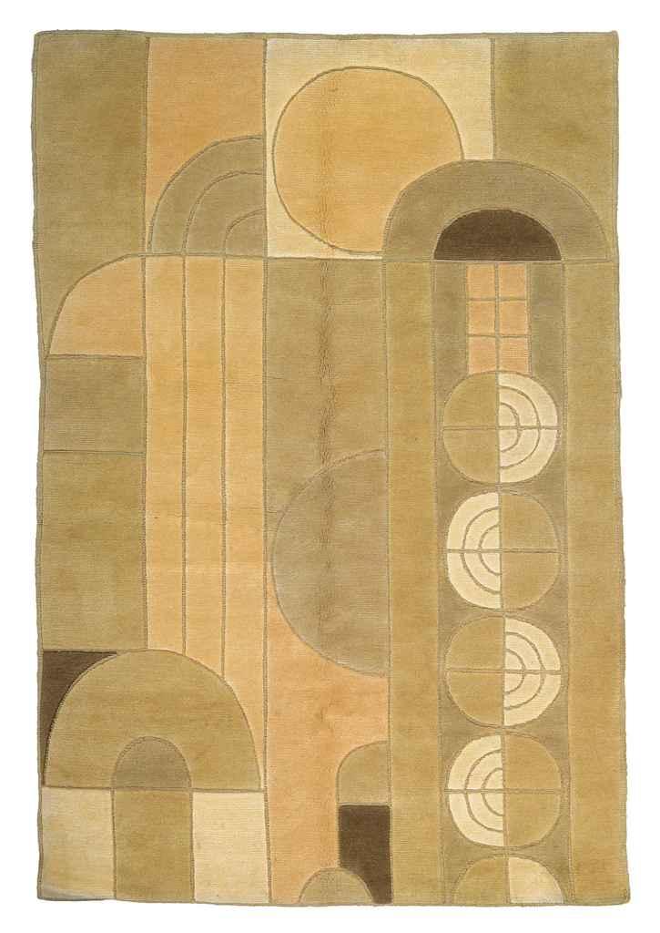 39 saguara ii 39 a wool rug after a design by frank lloyd wright circa 1995 christie 39 s - Frank lloyd wright rugs ...