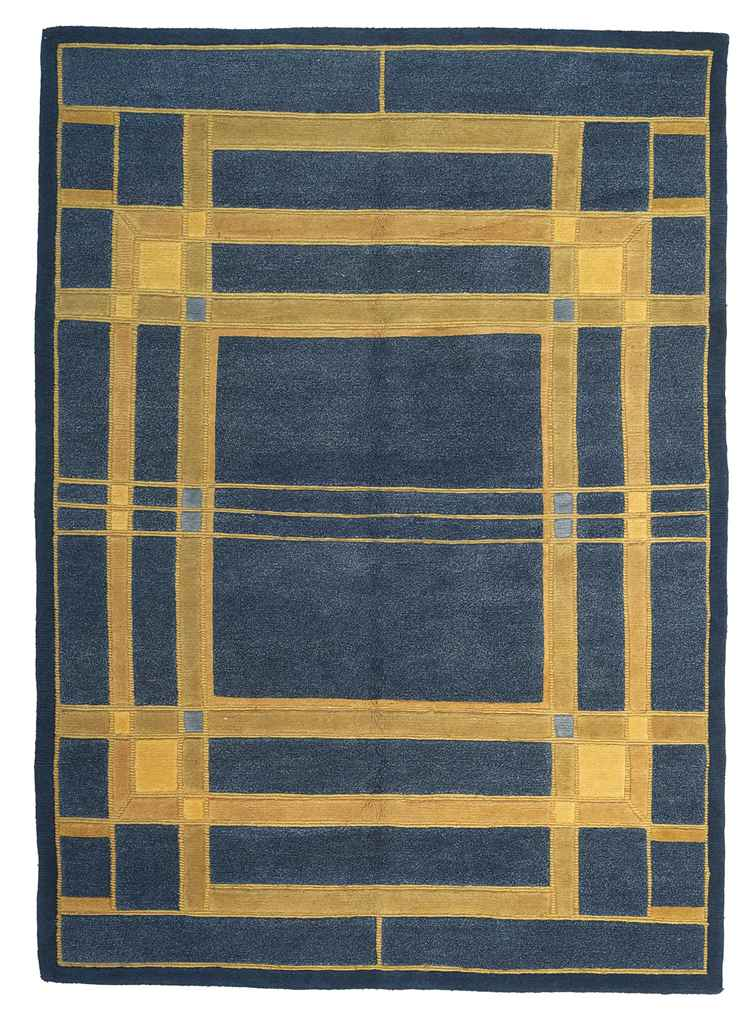 39 tomek grill 39 a wool rug after a design by frank lloyd wright circa 1995 christie 39 s - Frank lloyd wright rugs ...