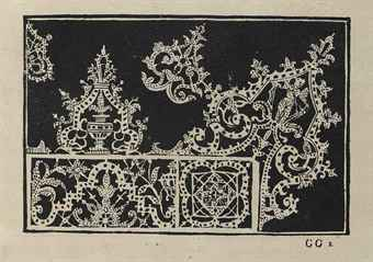 """Ilustración del libro de C. Vecellio de 1591 """"Corona delle nobili et virtuose"""""""
