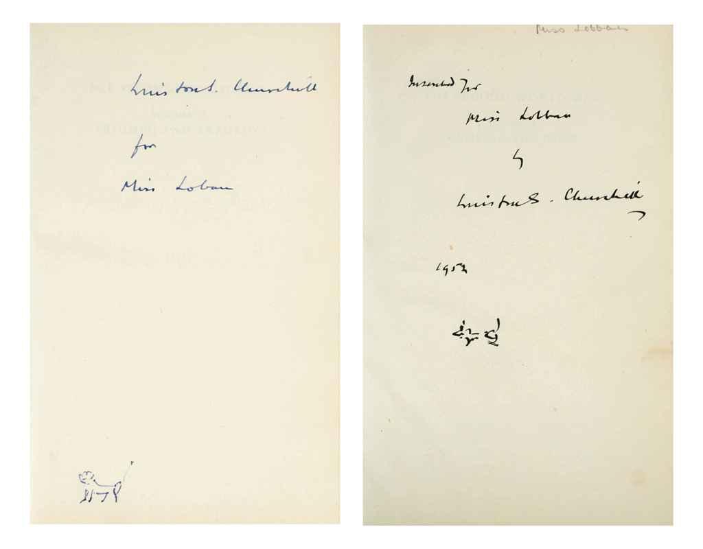 CHURCHILL, Winston S The Second World War London: Cassell & ...