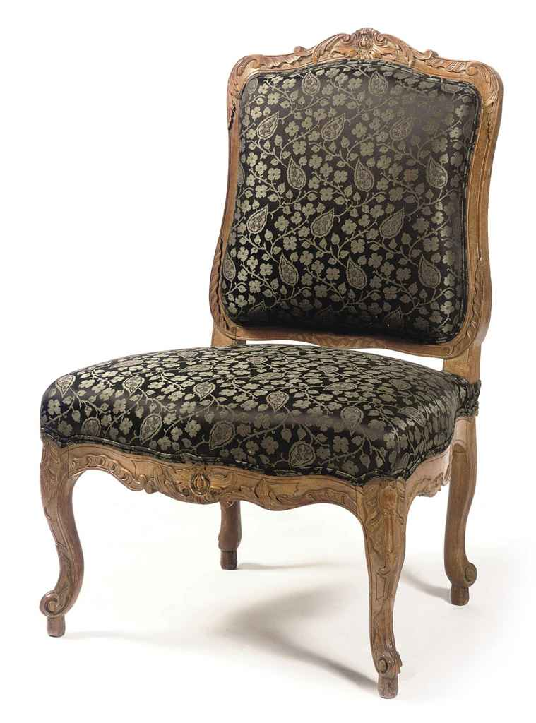 a french walnut chauffeuse of regence style 19th century christie 39 s. Black Bedroom Furniture Sets. Home Design Ideas