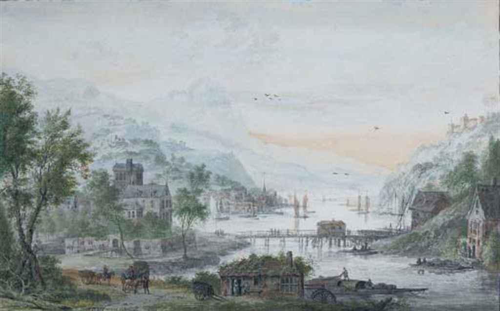 Abraham Rademaker (Lisse 1675-