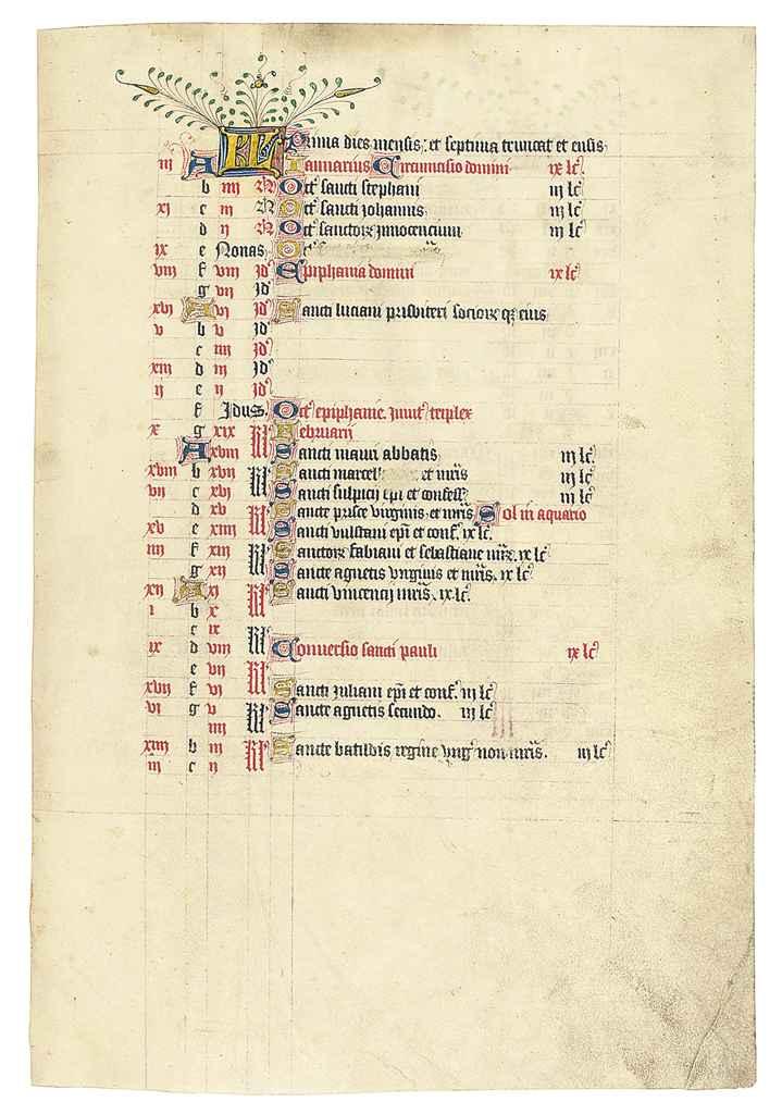 THE RICE PSALTER, use of Sarum