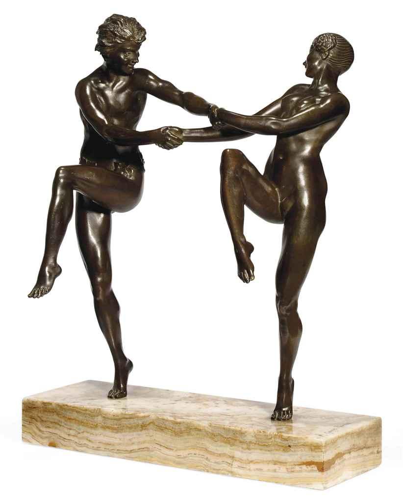 'THE DANCE' A MAURICE GUIRAUD-