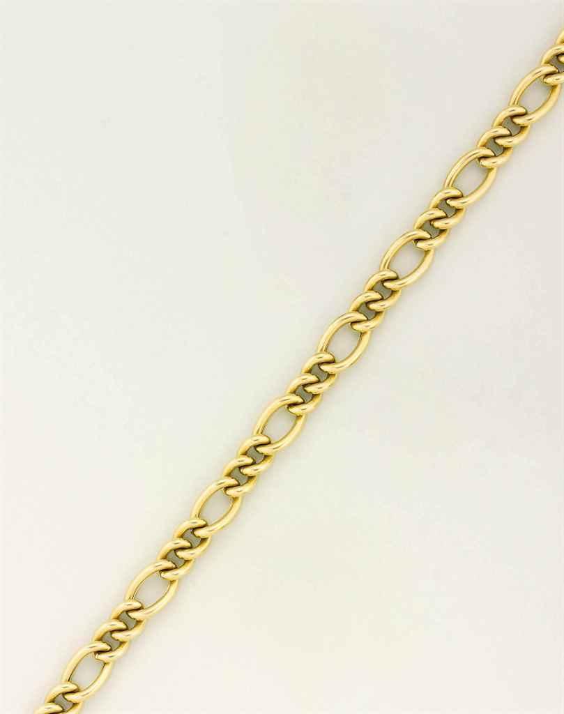 A fancy-link necklace