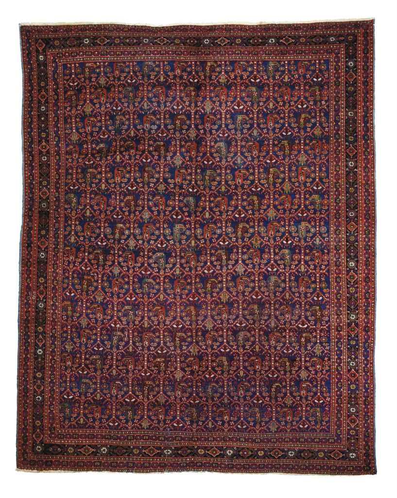 An aunusual Afshar carpet