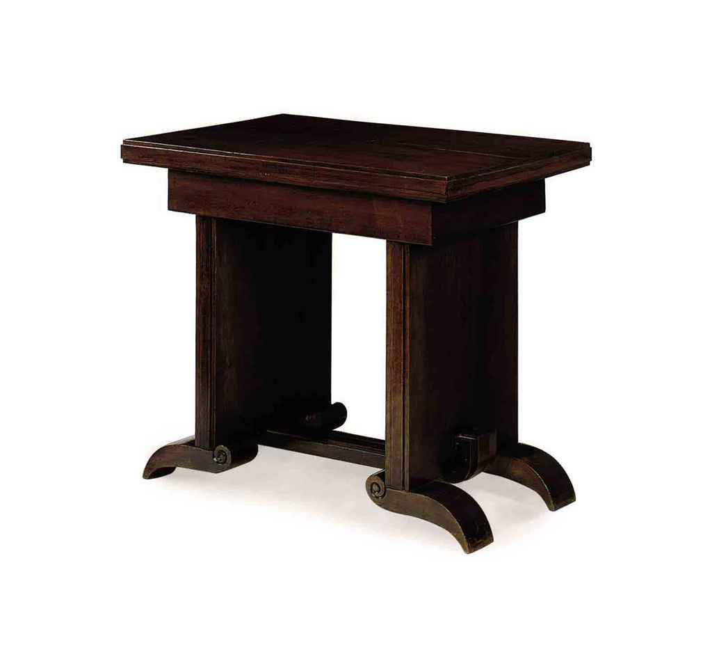 A FRENCH MODERNIST MAHOGANY CE