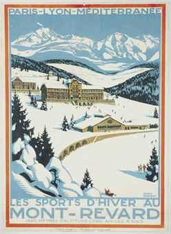 Roger broders 1883 1953 for Mont revard