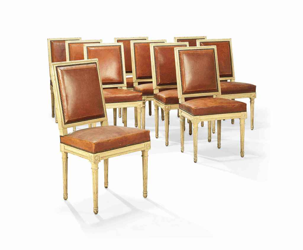 Suite de vingt chaises de style louis xvi xxeme siecle for Chaises louis xvi occasion