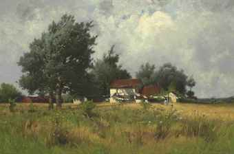 Farmhouse in a Landscape