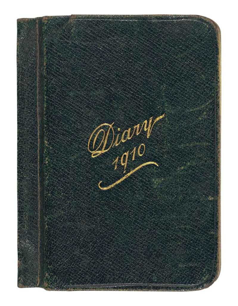SCOTT, Robert Falcon (1868-1912) Scott's pocket diary for 19...