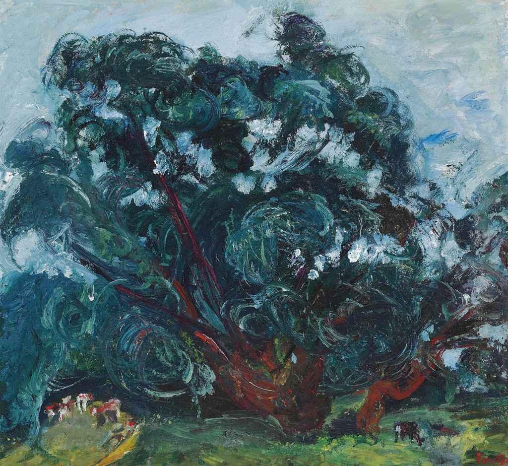 Chaim soutine 1893 1943 l 39 arbre christie 39 s for Chaim soutine
