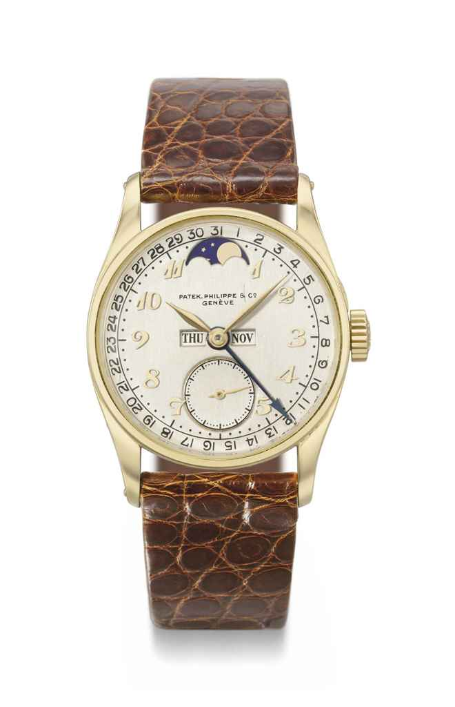 Patek Philippe. A probably uni