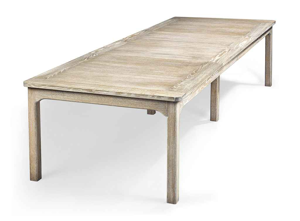 A limed oak dining table designed by alessandro gioia christie 39 s - Limed oak dining tables ...