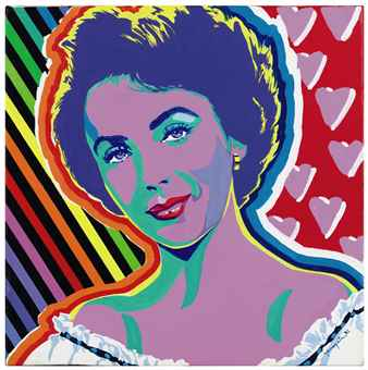 Portrait of Elizabeth Taylor