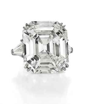 THE ELIZABETH TAYLOR DIAMOND A DIAMOND RING