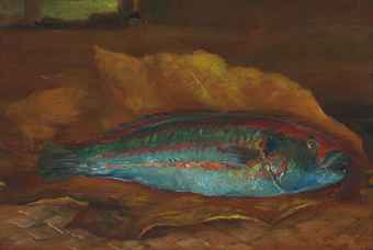 Study Fish on John La Farge Study Of The Parrot Fish D5508957h Jpg