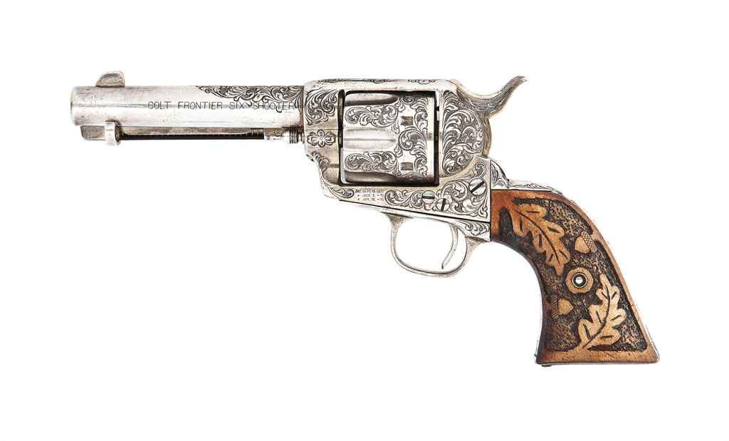 a history of the colt six shooter in texas