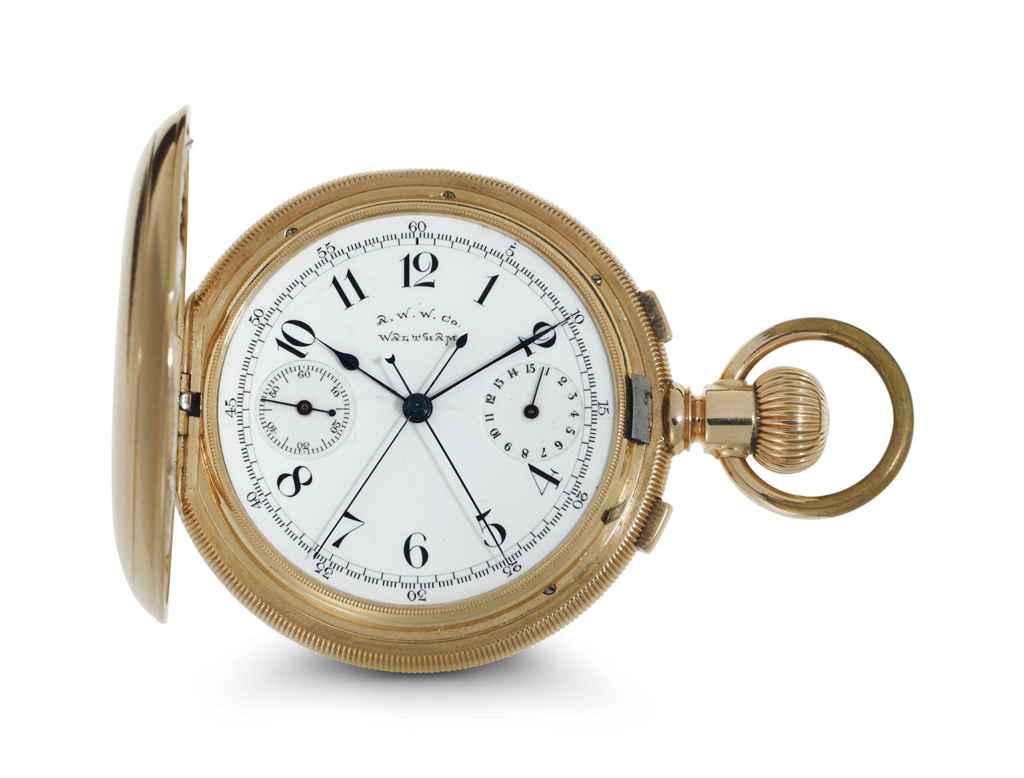 American Waltham Watch.  A Fin