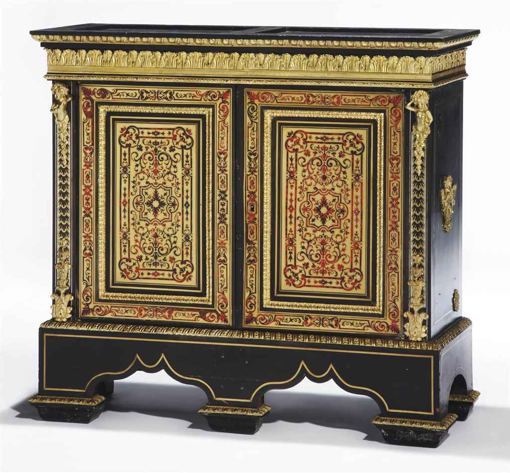 meuble d 39 entre deux d 39 epoque napoleon iii seconde moitie du xixeme siecle christie 39 s. Black Bedroom Furniture Sets. Home Design Ideas