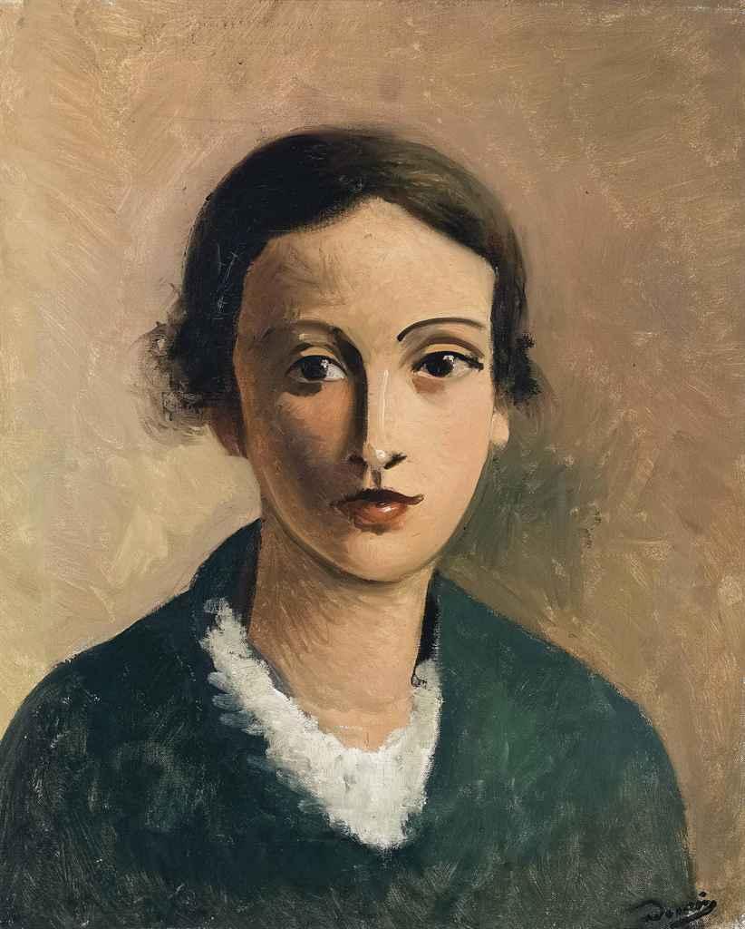 André Derain (18801954) , Tête de jeune fille  Christies