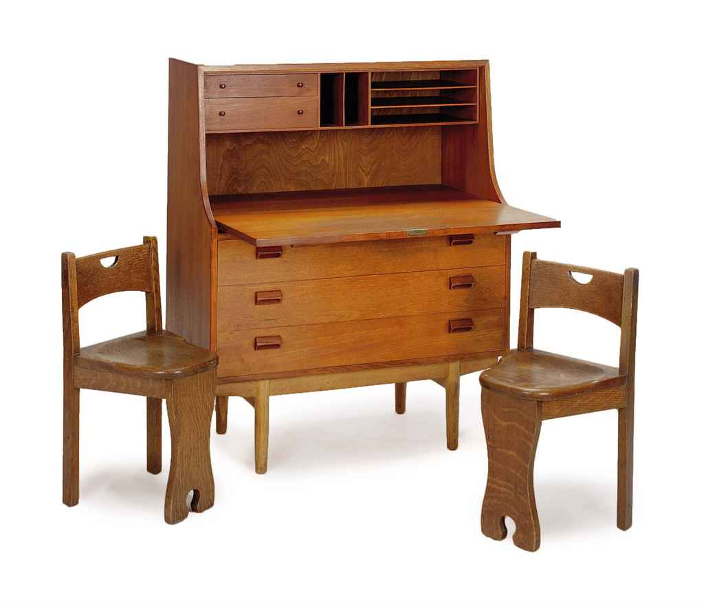 a group of scandinavian furniture mid 20th century