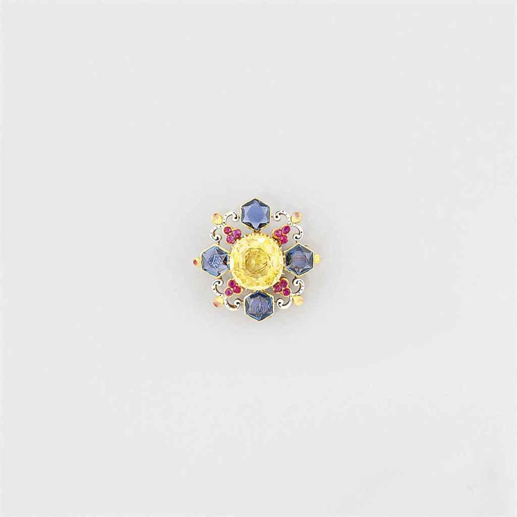 A yellow sapphire, sapphire, r