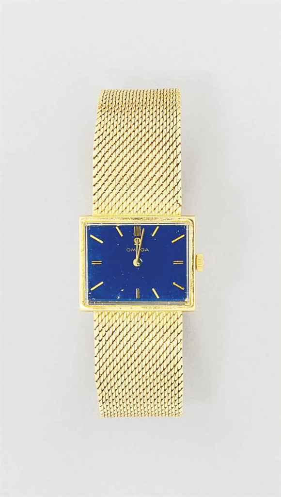 A wristwatch, by Omega