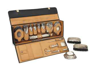 an american silver gentleman 39 s grooming set marks of. Black Bedroom Furniture Sets. Home Design Ideas