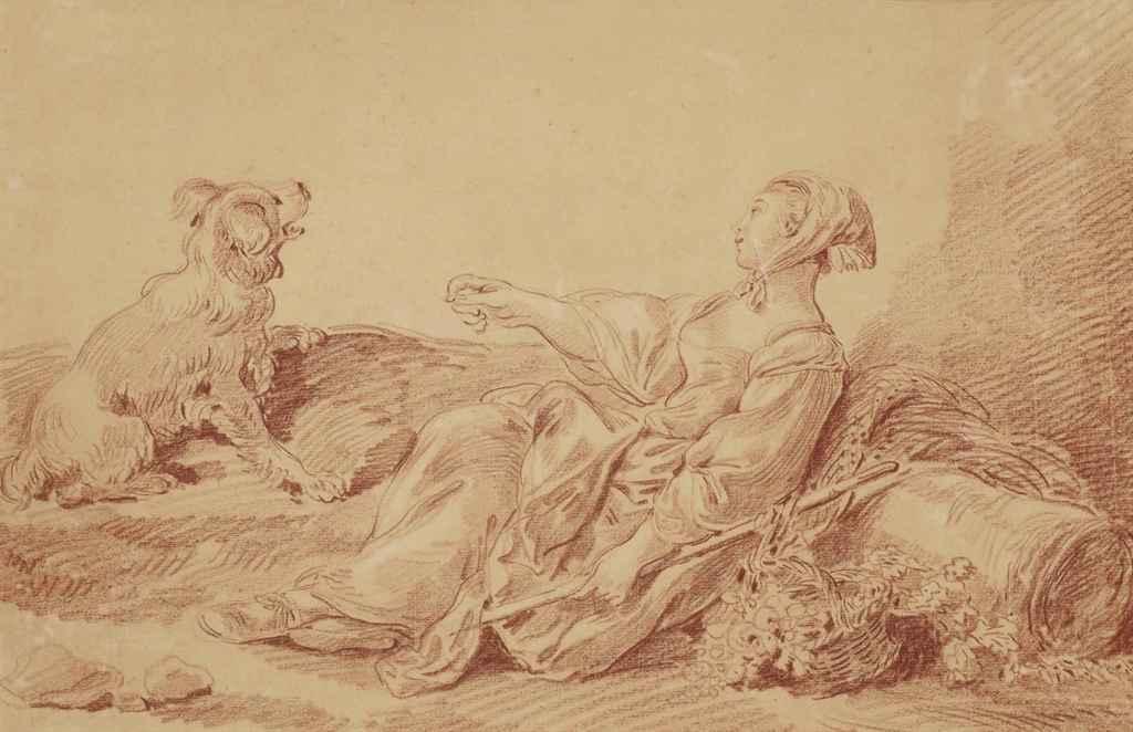JEAN-BAPTISTE HUET (PARIS 1745