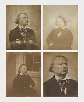 Portraits de Victor Hugo, Jersey, 1853-1855