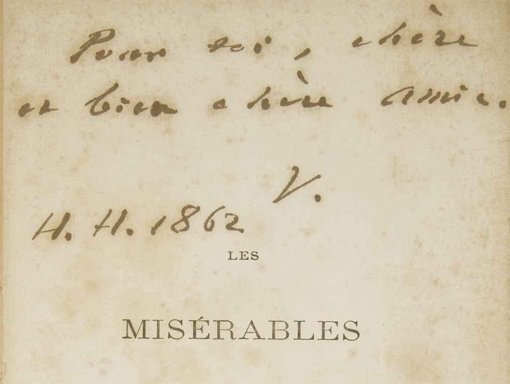 VICTOR HUGO. Les Misérables. B