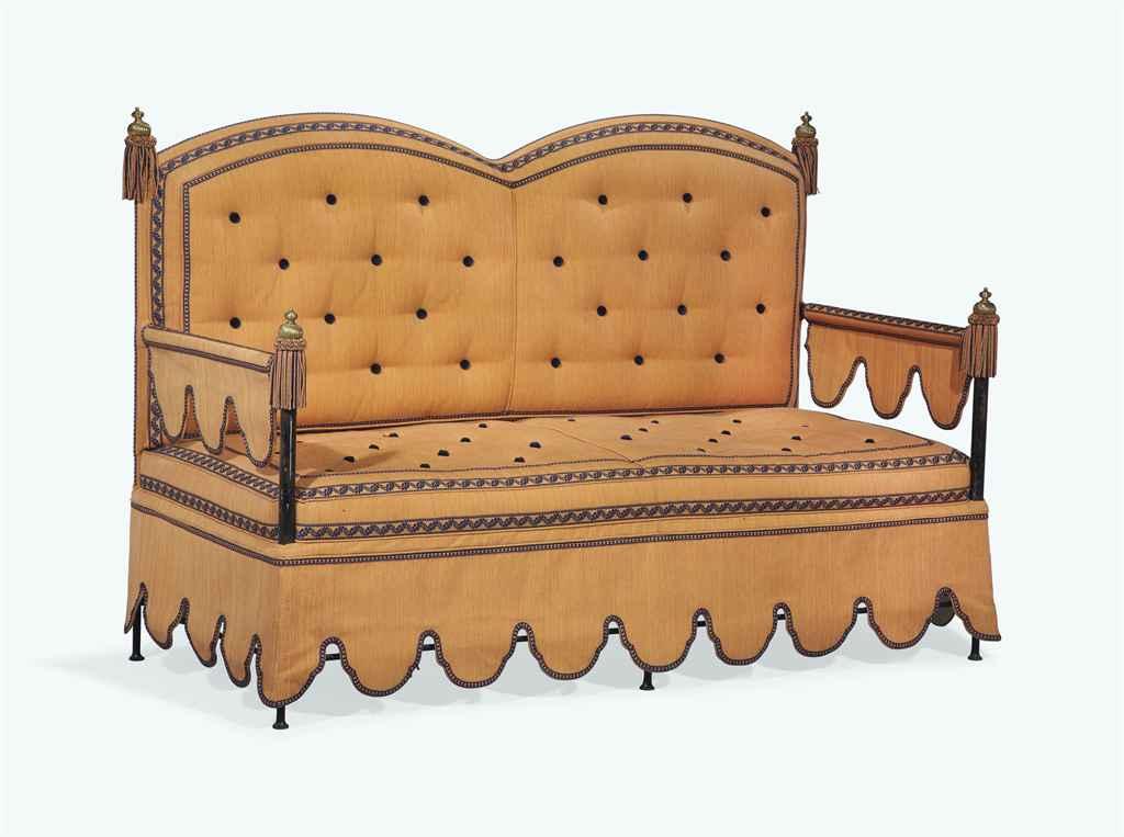banquette de style napoleon iii xxeme siecle christie 39 s. Black Bedroom Furniture Sets. Home Design Ideas