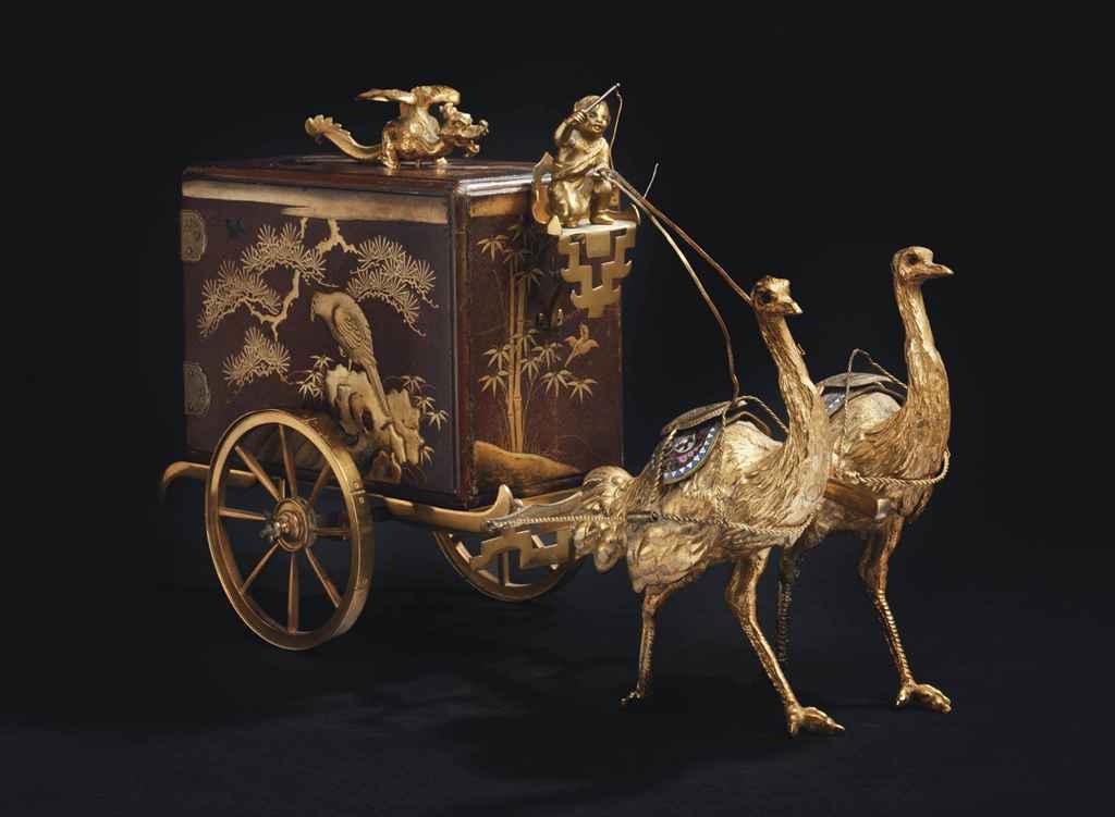coffret d 39 epoque napoleon iii signature d 39 alphonse giroux vers 1868 christie 39 s. Black Bedroom Furniture Sets. Home Design Ideas