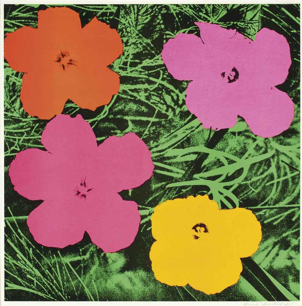 ANDY WARHOL   Flowers (F. & S. II.6)   1960s, Prints & Multiples ...