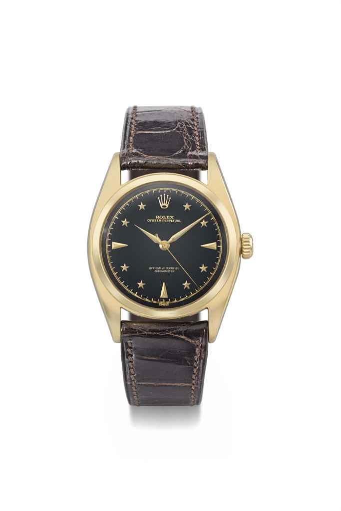 Rolex. A very rare and elegant