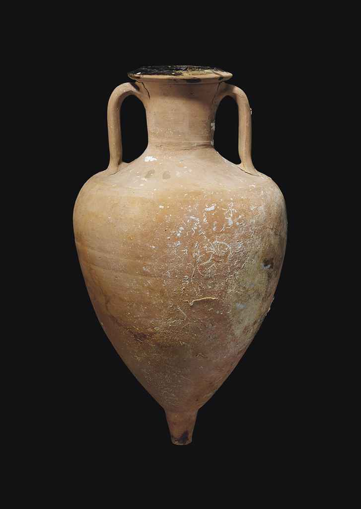 A Greek Pottery Transport Amphora Late Classical To